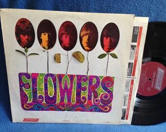 "RARE, Vintage, The Rolling Stones - ""Flowers"", Original 1968 Press, Vinyl LP, Record Album, Lady Jane, Out Of Time, Mother's Little Helper"