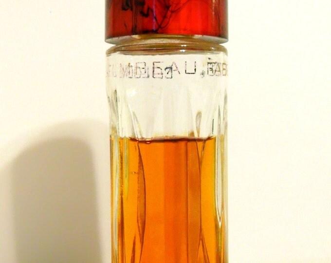 PERFUME Vintage 1950s Flambeau by Faberge 2 oz Cologne Splash Bakelite Cap DISCONTINUED