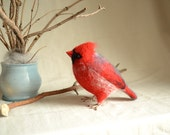 "Felt toy ""Cardinal""..... I will make this item for your order"