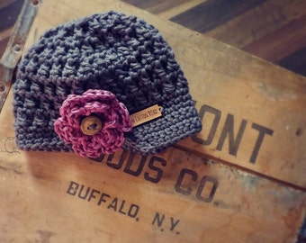 Textured Newsy Hat