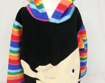 Angler fish monk fish hoodie