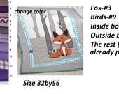 Custom Crib Quilt for Michele