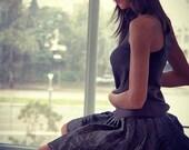 Black Skirt, Women Skirt, Modern Fashion , Handmade , Sexy Dress