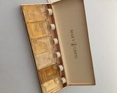 Vintage MARY CHESS Toilet Water MINIATURE Perfume Bottles Commercial Perfume Bottles Original Box Never Used