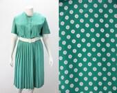 Plus Size Dress - 1980s Vintage Day Dress