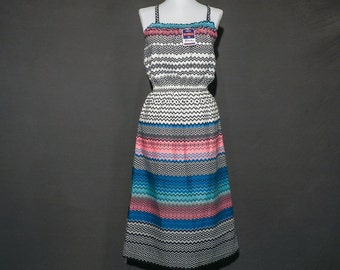 FOUND IN SPAIN -- striped sundress - with original tags