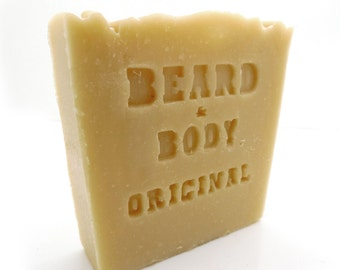 Beard and Body Soap Original by Honest Amish