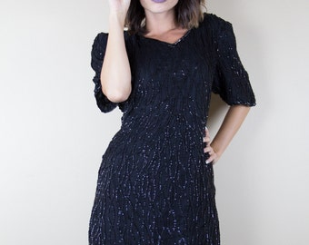 Mark & John Vintage Beaded Dress