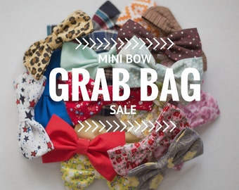 GRAB BAG of 6 Mini Bows
