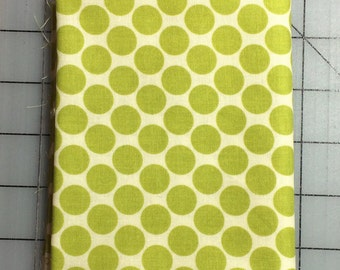 Fat Quarter Cut of Amy Butler Lotus Full Moon Lime Dot AB13