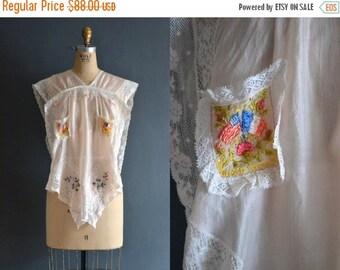 SALE - vintage silk pajamas / French flag