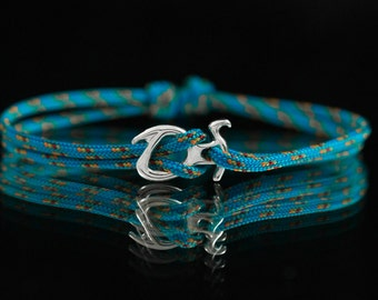 PIRANA descender bracelet. Mountaineering, rock climbing, backpackers and hikers charm