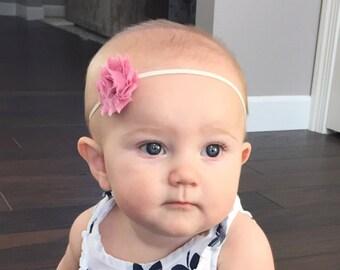 Baby Girl Headband, Baby Headband, Baby Bow, Infant Headband, Infant Bow, Newborn Headband, Newborn Bow