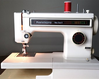 kenmore ultra stitch 12. vintage kenmore ultra stitch 8 sewing machine - fully reconditioned 12 r