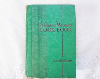Vintage The American Woman's Cook Book 1941