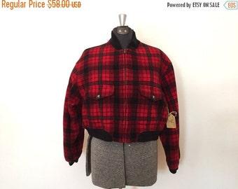 xoxo... Vintage GAP Coat / Med/Large / Wool Cropped Coat