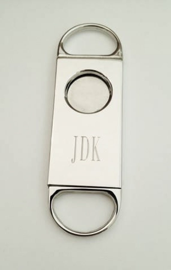 Personalized Cigar Cutter Custom Gifts for Him Under 20