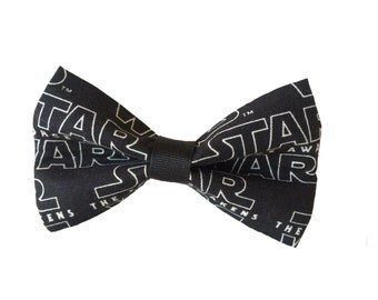 Star Wars Logo Bow Tie for Dog Collar