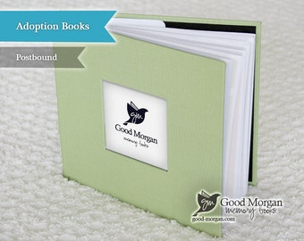 Adopted Baby Memory Book - Sage