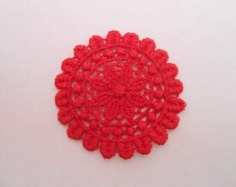 Round Medallion lace 4 cm