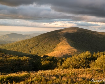 Roan Highlands Sunset - Hump Mountain - North Carolina - Appalachian Trail - Pisgah National Forest - Landscape Photography
