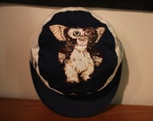 Vintage GREMLINS Hat Kids Size 1980's comedy horror film cinema 100% cotton made in usa movie promo promotional