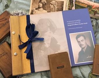 Celebration of life memory book