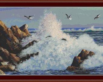 The Beauty Of The Sea Cross Stitch Pattern
