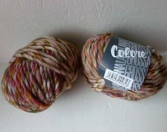Yarn Sale  - 011 Colore Stripe by Lana Grossa