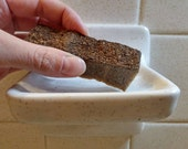 Coffee Soap! Extra Scrubby - Exfoliating - Made With Goat Milk - Artist/Mechanic Soap - Grease Remover - Dirt Scrubber