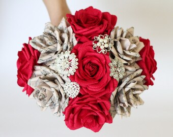 alternative bouquet bridal bouquet brooch bouquet red roses bouquet music roses bouquet bridesmaids bouquet notes roses bouquet unique bunch