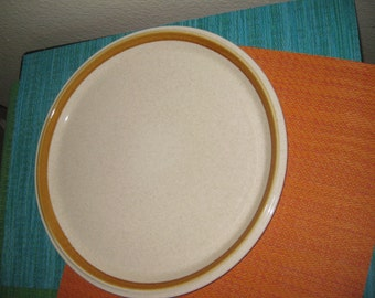 Vintage Mikasa Stone Manor Platter Chop plate , Very good, One available
