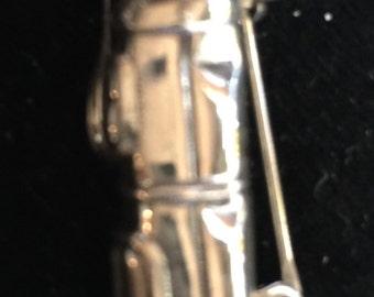 Sterling Golf Bag Pin