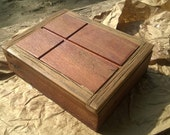 Rustic table top Rapture / Bible Box