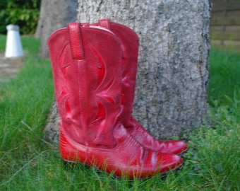 Vintage 80 The vintage boots red cowgirls