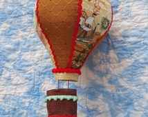 Hot Air Balloon Mobile: Boy themed Children's Decor