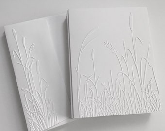 Embossed Cards, Embossed Note Cards, Embossed Cards Set, Nature Cards, Note Card Set, Boxed Greeting Cards, Embossed Cards Boxed Set