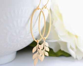 The Vivienne Earrings - Gold