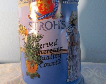 Vintage Stroh's The House Of Wiebracht Limited Edition Freindship