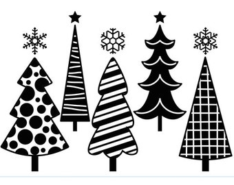 CHRISTMAS TREEs VARIETY SCENE - DARiCE- EMBOSsING FoLDeR - A2   Very Beautiful for Card Making