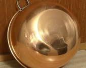 Free shipping! Copper mixing bowl