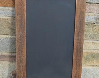 "BARNWOOD CHALKBOARD Rough Hemlock 20"" x 30""  Reclaimed from 150 year old barn! / Handcrafted! #16JCH13"