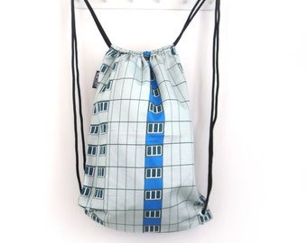 Drawstring Backpack: Berlin Architecture