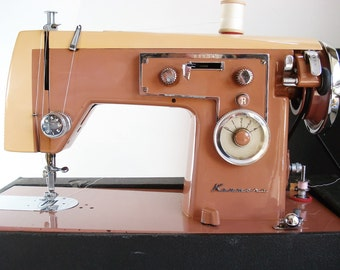 Vintage Sears Kenmore Pink 158 47 Sewing Machine