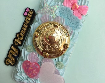 Ready to Ship Sailor Moon decoden phone case for Iphone 6/6s plus