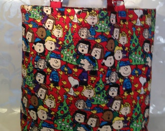 A Charlie Brown Christmas Tote
