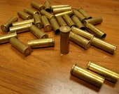 Empty, spent Variety of 38 Special ammo brass shells for crafting and jewelry. lot 32 pieces
