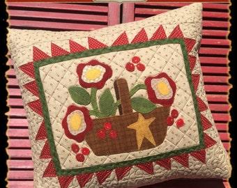 Christmas Basket Pillow Kit