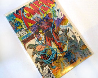 X-Men #2: Firestorm Comic – 1991 by Chris Claremont (Author), Jim Lee (Illustrator)
