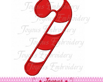 Instant Download Christmas Candy Cane Applique Embroidery Design NO:1848